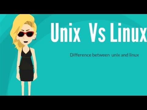 Unix Vs Linux - YouTube