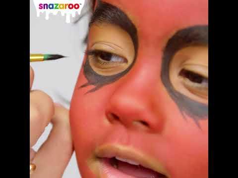 Snazaroo Facepaint Tutorial: Devil