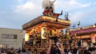 駒形神社祭典での御前崎六区集まってのお囃子披露、西側地区.