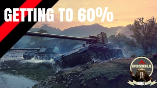 World of Tanks Blitz Gameplay   How to get to 60Wr