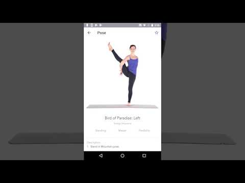 Yoga Studio Android App Preview