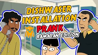 Ramadan Dishwasher Installation RAGE - Ownage Pranks