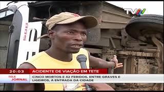 Acidente de viação em Tete: Cinco mortos e 42 feridos, entre graves e ligeiros, à entrada da cidade