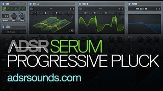 Serum Tutorial - Progressive EDM Pluck