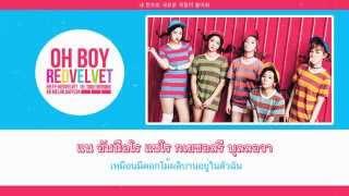 [KARAOKE/THAISUB] Oh Boy - Red Velvet