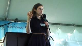 Madeline Miller at the Gaithersburg Book Festival