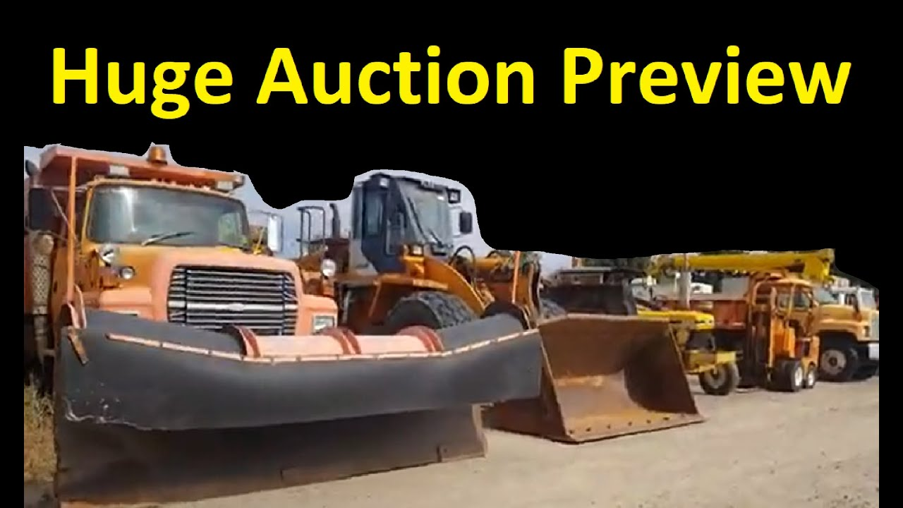 State Government Surplus Auction Online Equipment Sales Cars Trucks Tractors Daily Vlog