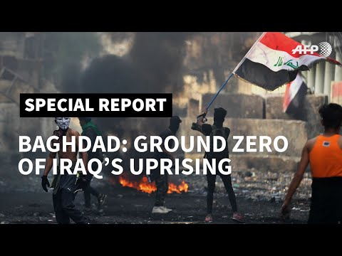 Baghdad rising: Iraqis unite in 'big family' of protest | AFP
