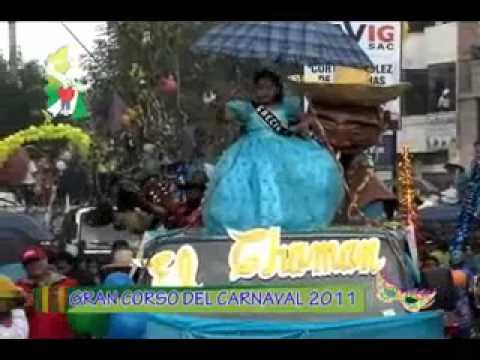 Corso de Carnaval 2011 Region Cajamarca PARTE 3 de 4