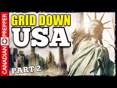 America after Grid Down: Collapse of Critical Infrastructure