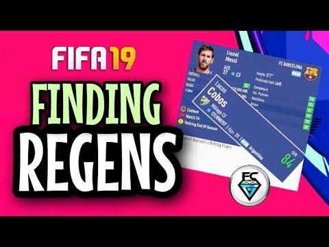 FIFA 19: FINDING REGENS