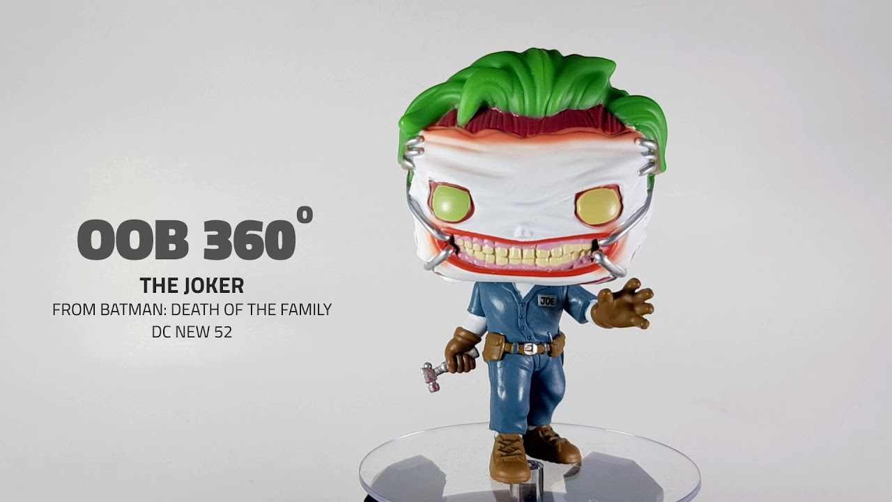 Vinyl Figure Death of the Family Pop Batman Joker