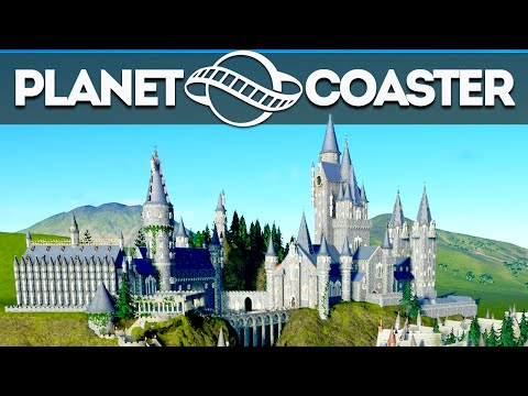 Planet Coaster Creations : THE HARRY POTTER HOGWARTS PARK?!