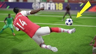 FIFA 18 TOP 10 BEST GOALS! Ft.AUBAMEYANG OVERHEAD,BACKHEEL, RABONA KICK!