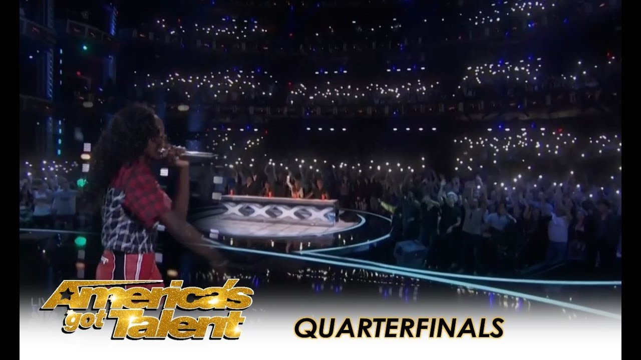 Flau'jae: This 14-Year-Old Rapper BRINGS THE HOUSE DOWN! | America's Got Talent 2018