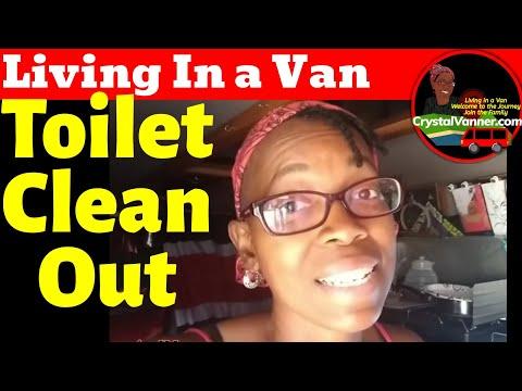 RV/Camper Van Toilet Alternative: The Clean Out