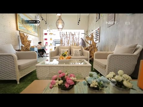 Du0027SIGN   Rattan Living, Galeri Furniture Keren Berbahan Rotan Sintetis