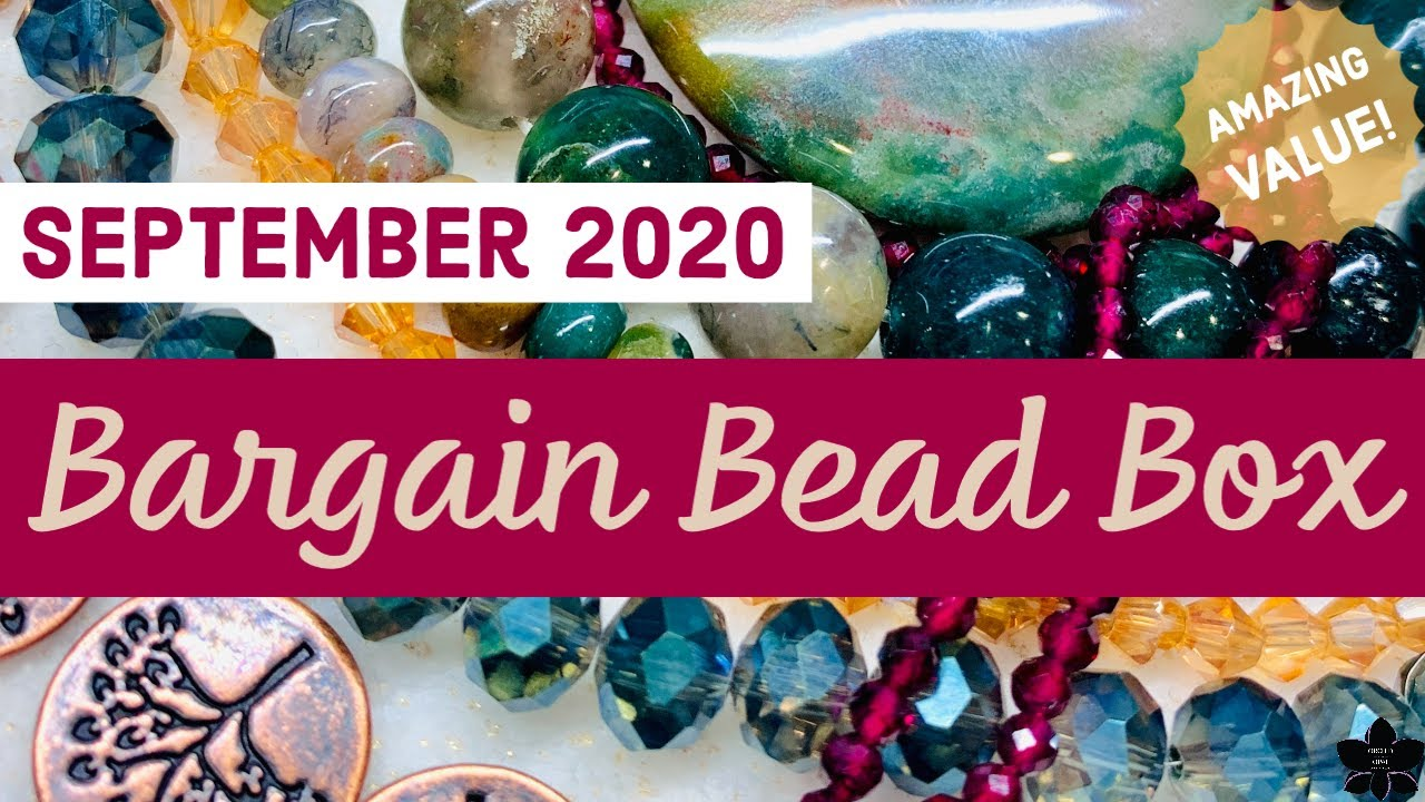 Bargain Bead Box Monthly Subscription Unboxing | Sept 2020