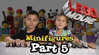 LEGO MOVIE MINIFIGURES!!! Box of Blind Bags Opening - PART 5