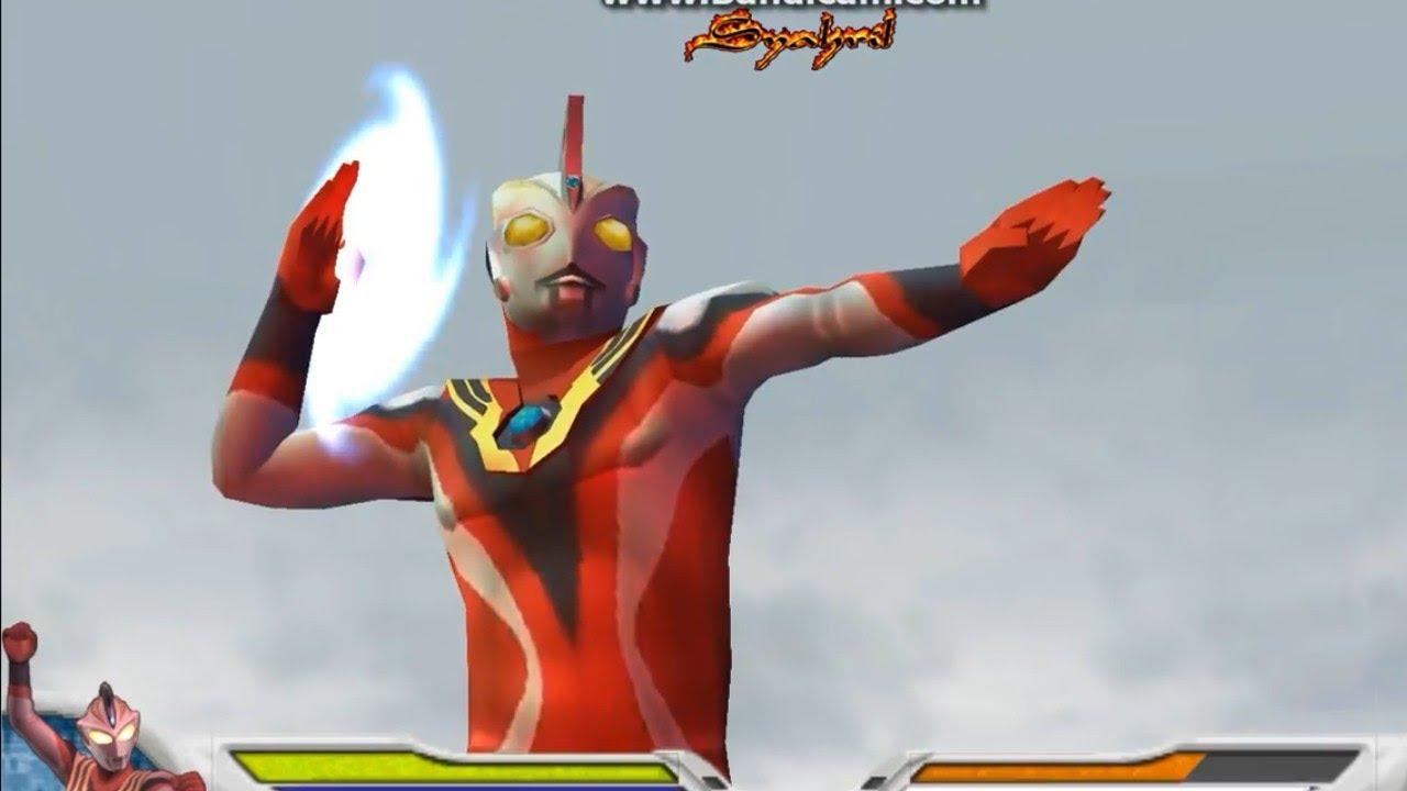 Ultraman Justice Crusher Mode (PPSSPP) Ultraman Figh...