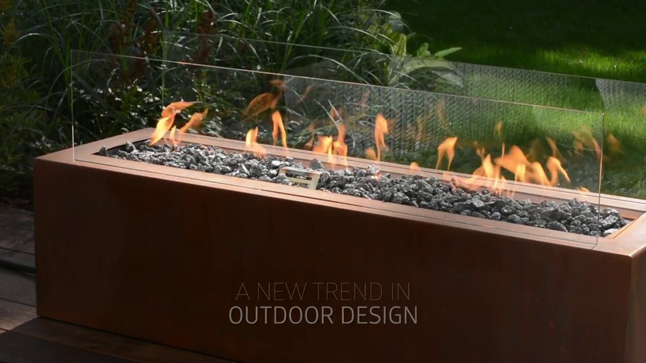 galio remote u2013 automatic gas fireplace for your outdoor living