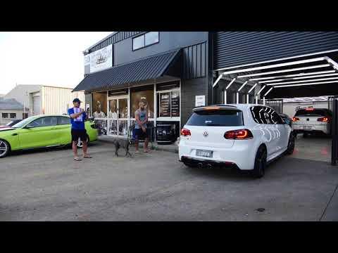 Volkswagen Golf GTI, window tint and brake caliper paint