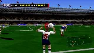FOX Sports Soccer 99 Gameplay - PSX,PSONE,PlayStation 1