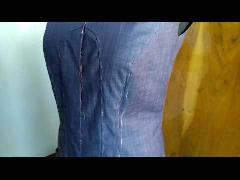 #488.платье из джинсовой ткани