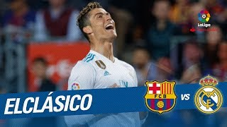 ElClásico - Gol de Cristiano Ronaldo (1-1) FC Barcelona vs Real Madrid