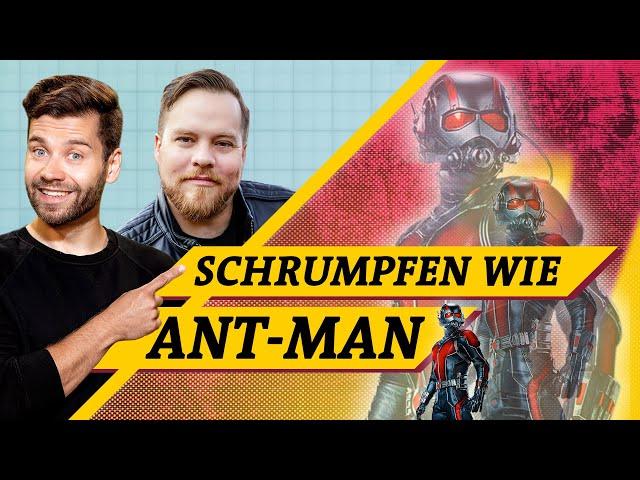 Ant-Man: Warum schrumpfen total bescheuert ist (Science vs. Fiction feat. @Der Comicladen )