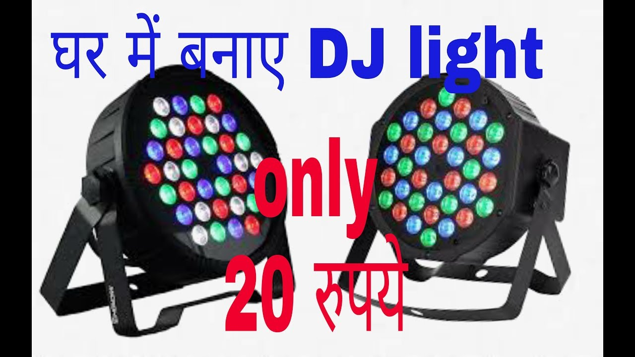 Make Dj Light Simple And Easy At Home Low Cost 100 Working Digital Voltmeter Circuit