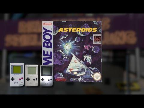 Gameplay : Asteroids [Gameboy]
