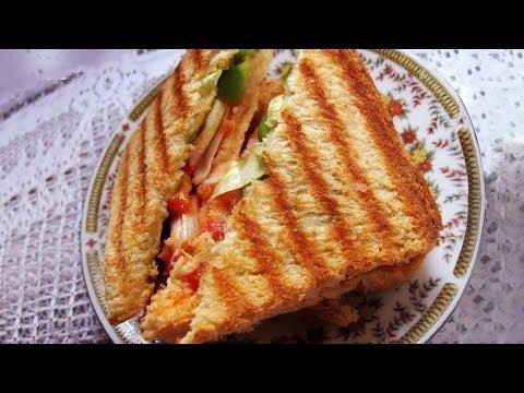 Grilled Daily Sandwich - Sanjeev Kapoor - Khana Khazana
