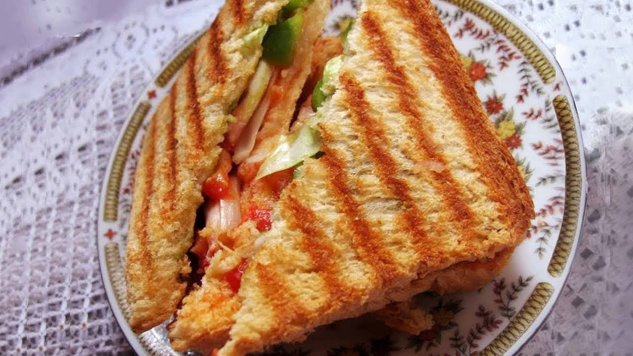 How to make daily grilled sandwich grilled sandwich by sanjeev how to make daily grilled sandwich grilled sandwich by sanjeev kapoor youtube forumfinder Choice Image