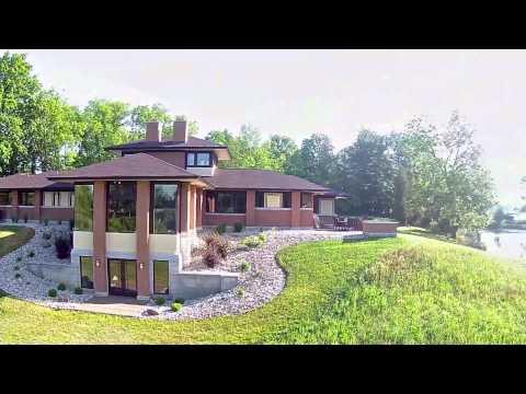 Duke Homes Frank Lloyd Wright Style Home Youtube