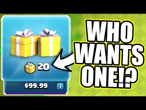 Thumbnail: WHATS HIDDEN IN THE CLAN CHAT?! - Clash Of Clans - SURPRISE SURPRISE!