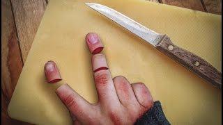 Photo Manipulation | Photoshop Tutorial | Finger cut