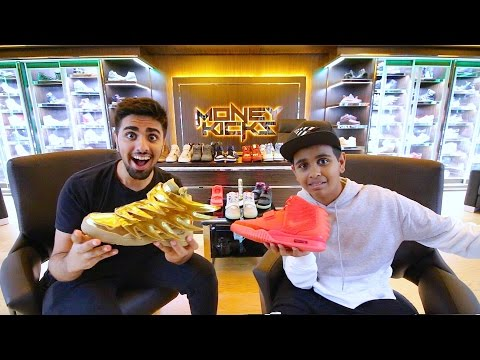 Thumbnail: The Kid in Dubai with $1,000,000 in Shoes ...