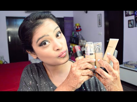 Top 5 Foundations For The Indian Skin Tone | Aarushi Jain