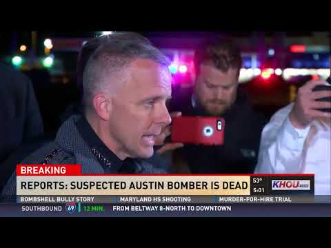Raw: Police, FBI press conference after Austin bombing suspect's death