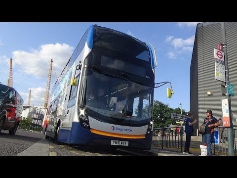 *Full Route Visual* Route M2 | Canterbury - North Greenwich | YN16 WVA (15261)