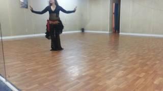 Табла соло урок-постановка для научинающих | Обучение танцу живота для начинающих