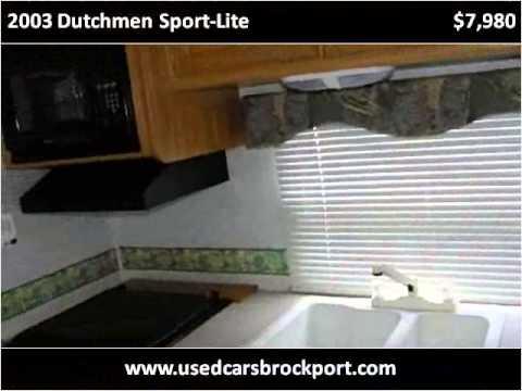 2003 Dutchmen Sport-Lite Used Cars Rochester NY