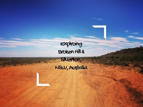 Exploring Broken Hill & Silverton Hotel, NSW, Australia