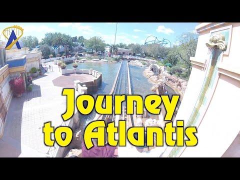 Journey To Atlantis 2017 Updated POV At SeaWorld Orlando