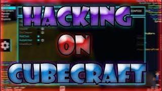Hacking on CubeCraft! [Skush b1]   Skywars