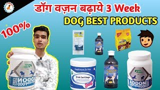 How to increase dog health / in Hindi /  Best Dog supplement to increase dog weight