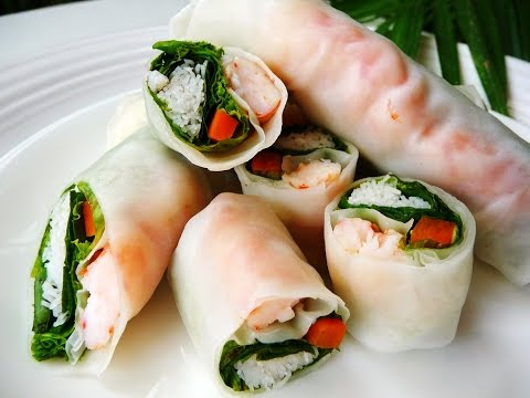 ปอเปี๊ยะเวียดนาม Vietnamese Spring Rolls
