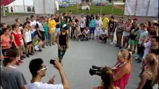 Camp of Hip Hop 2012 | King Charles | Footwork Freestyle