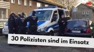 Schwerverletzter Familienvater in Mülheim: Polizei sucht in Hinterhöfen